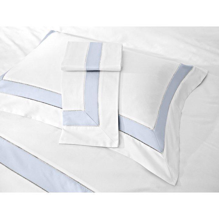Наволочка «Prime» (цвет: молочный/жемчужно-серый, 50х75 см, сатин)