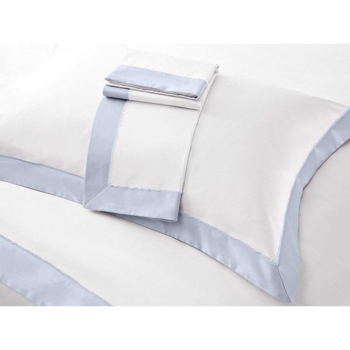 Наволочка «Fringe» (цвет: молочный/жемчужно-серый, 70х70 см, сатин)