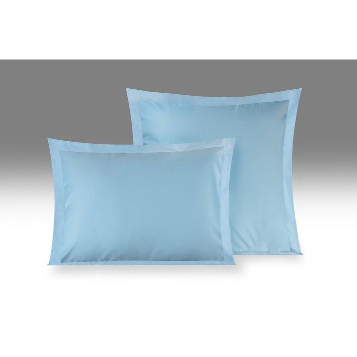 Наволочка «Edem» (цвет: небесно-голубой, 70х70 см, сатин)
