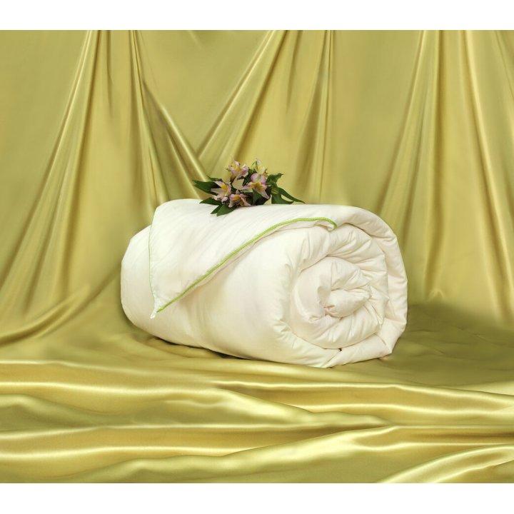 Одеяло шелковое теплое «Classic» (150х210 см; наполнитель: 100% шелк Mulberry, 1-я категория; чехол: сатин, 100% хлопок; цвет: белый)