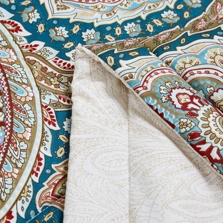 Одеяло облегченное стеганое «Asabella №1488-OM» (200х220 см; наполнитель: 50% тенсель, 50% искусственный шелк; чехол: сатин, 100% хлопок)