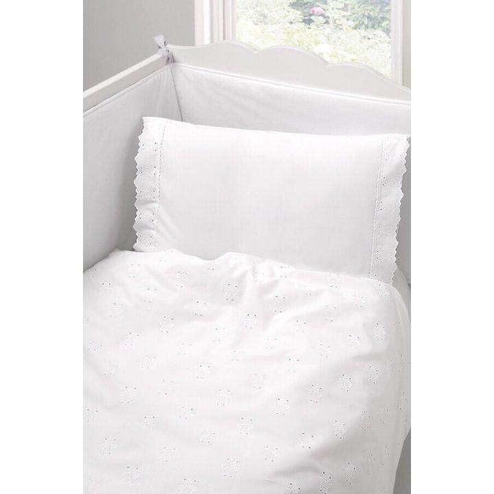 Чехол для бампера «Мишутки» (цвет: белый, 45х390 см, перкаль)