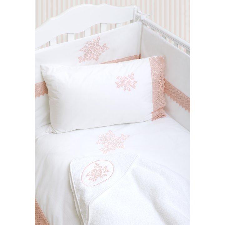 Чехол для бампера «Rose» (цвет: белый/розовый, 45х390 см, перкаль)