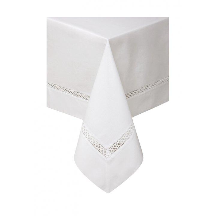 Скатерть «Holiday» (цвет: белый, 160х280 см)