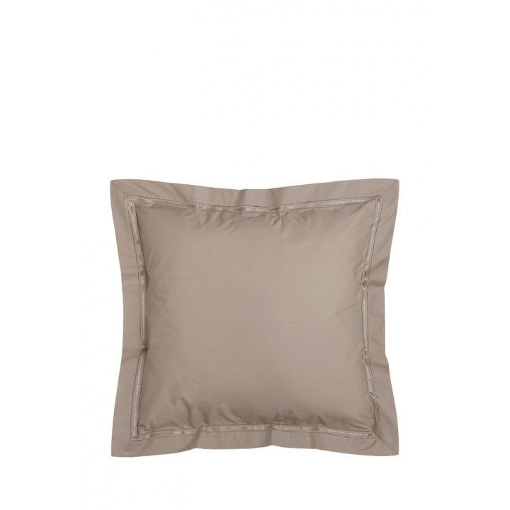 Наволочка «Акцент» (цвет: бронзовый, 70х70 см, перкаль)