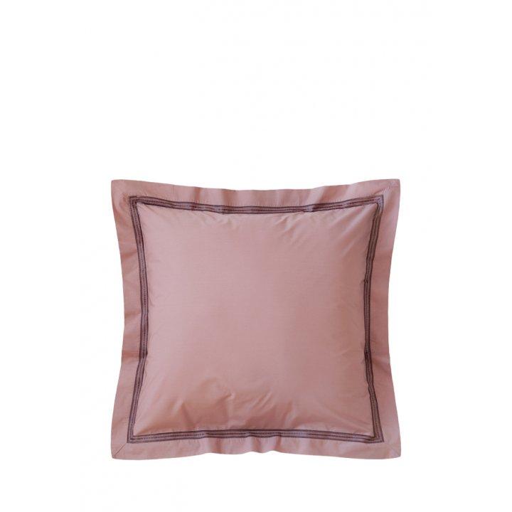 Наволочка «Акцент» (цвет: карминово-розовый, 70х70 см, перкаль)