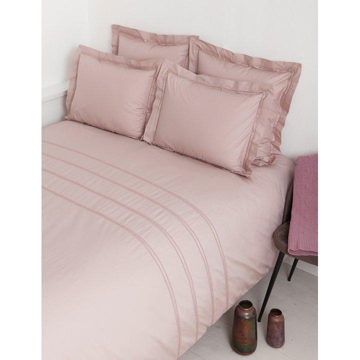 Пододеяльник «Акцент» (цвет: пудрово-розовый, 150х210 см, перкаль)
