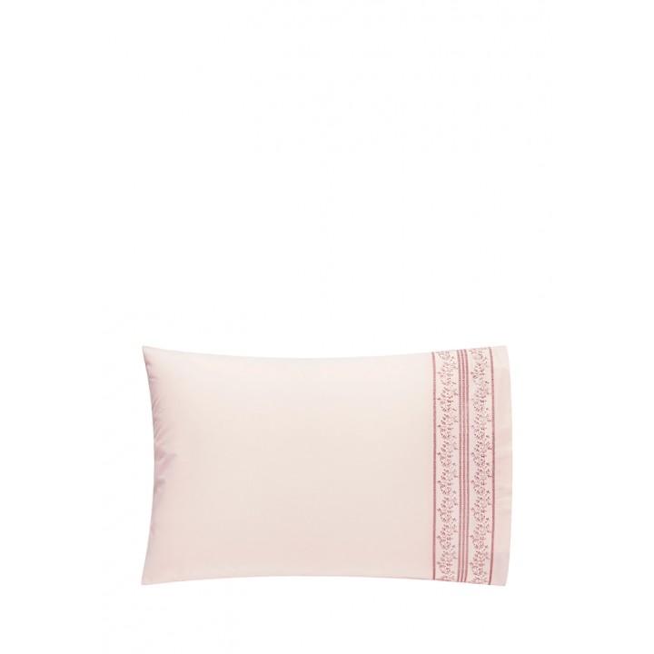 Наволочка «Osaka» (цвет: нежно-розовый, 50х70 см, перкаль: 100% хлопок)