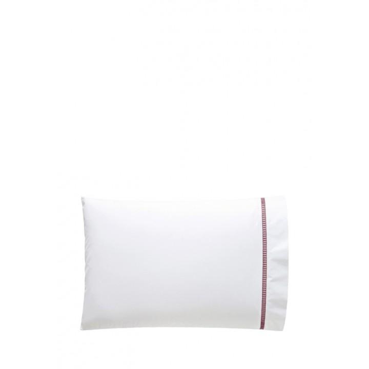 Наволочка «San Marco» (цвет: белый/розовый; 50х70 см; перкаль: 100% хлопок)