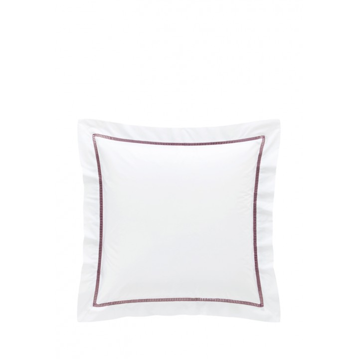 Наволочка «San Marco» (цвет: белый/розовый; 70х70 см; перкаль: 100% хлопок)