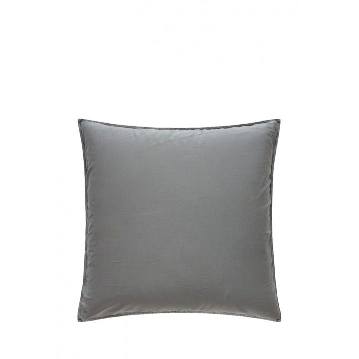 Наволочка «Soft Sateen» (цвет: серо-зеленый; 70х70 см; софт-сатин: 100% хлопок)
