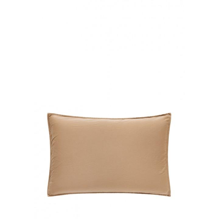 Наволочка «Soft Sateen» (цвет: золотой; 50х70 см; софт-сатин: 100% хлопок)