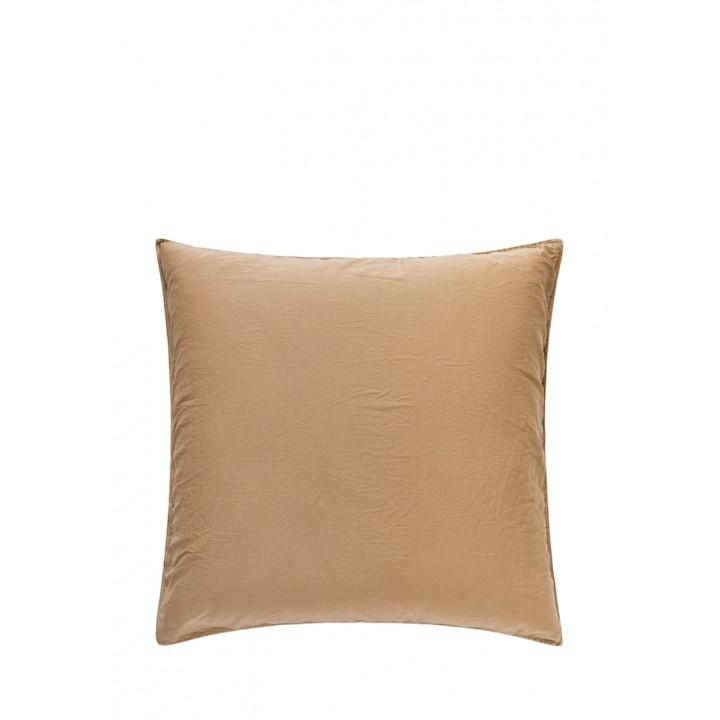 Наволочка «Soft Sateen» (цвет: золотой; 70х70 см; софт-сатин: 100% хлопок)