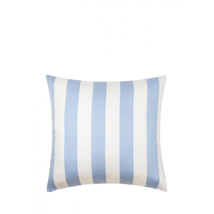 Наволочка «Weekend» (цвет: голубой/экрю, 70х70 см, сатин)