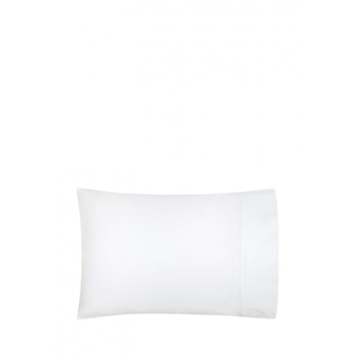 Наволочка «Basic» (цвет: белый; 50х70 см; перкаль: 100% хлопок)