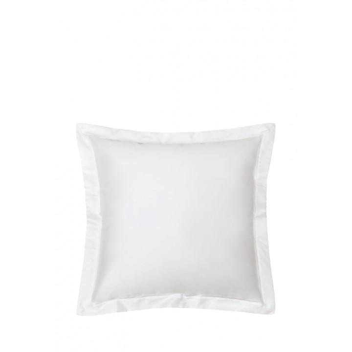 Наволочка «Basic», цвет: белый (70х70 см; сатин: 100% хлопок)