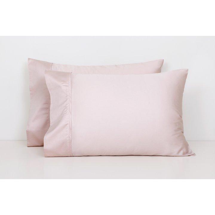Наволочка базовая (цвет: розово-жемчужный, 50х70 см, сатин)