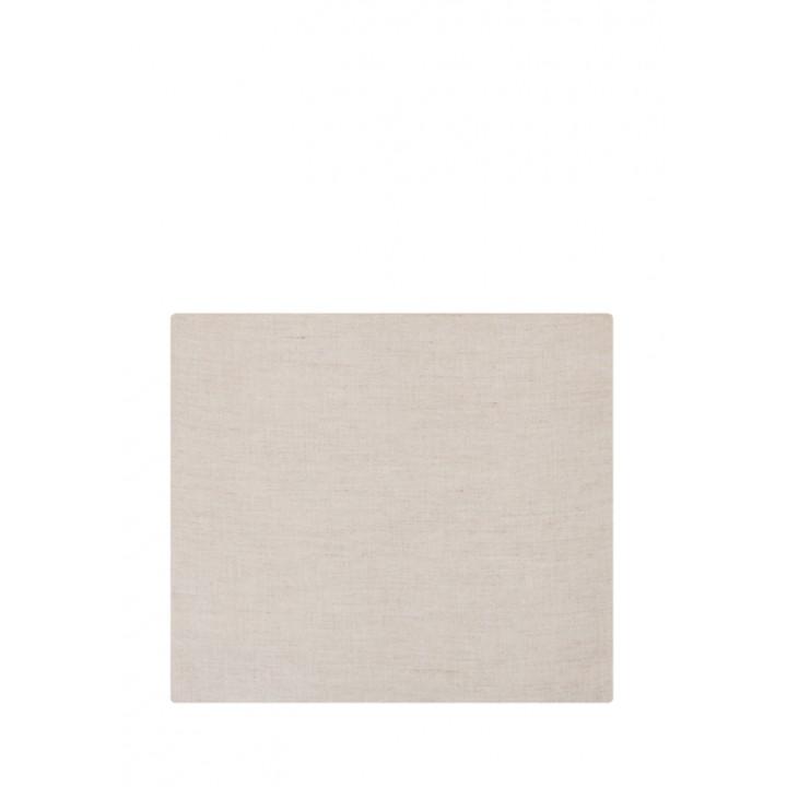 Простыня на резинке «Linen» (цвет: натуральный; 180х200х30 см; лен-хлопок Stonewashed: 50% лен, 50% хлопок)