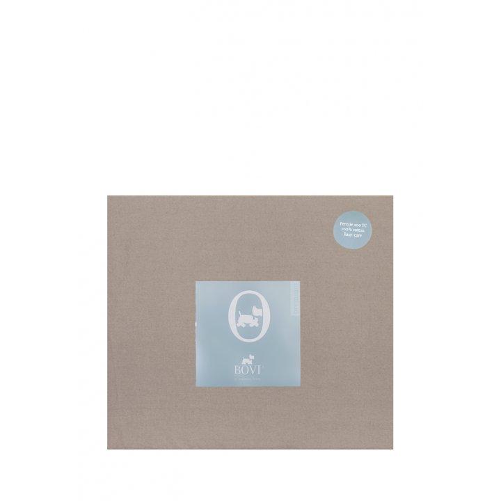 Простыня на резинке «Акцент»  (цвет: бронзовый, 160х200х30 см, перкаль)