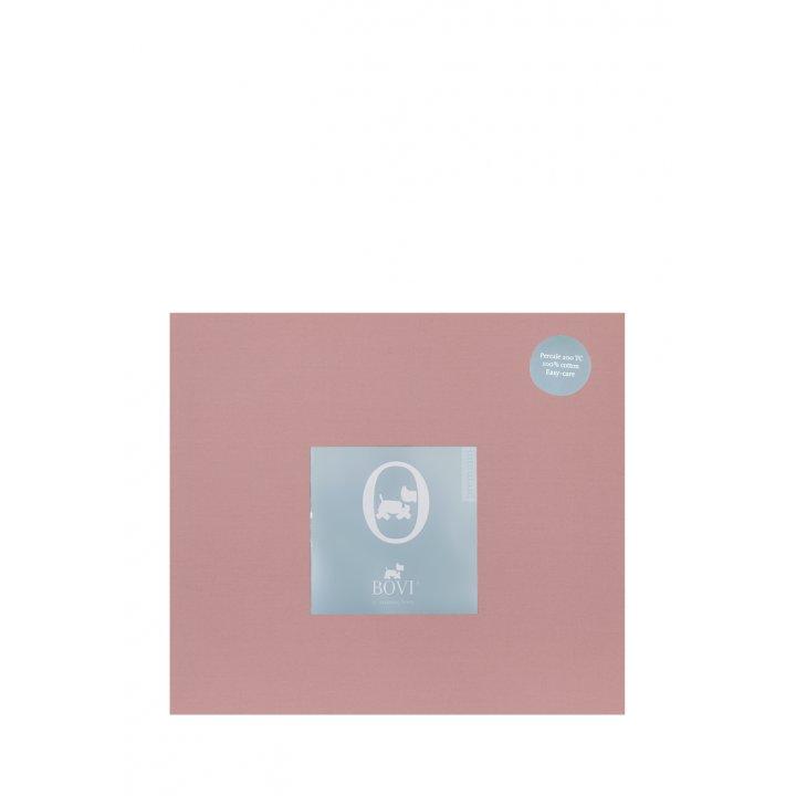Простыня свободная «Акцент» (цвет: карминово-розовый, 240х280 см, перкаль)