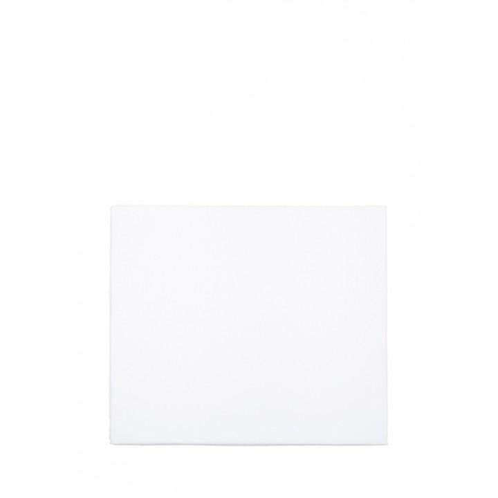 Простыня на резинке (цвет: белый; 90х200х30 см; перкаль: 100% хлопок)