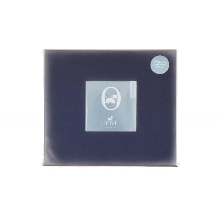 Простыня на резинке «Dragonfly» (цвет: синий, 160х200х30 см, перкаль)
