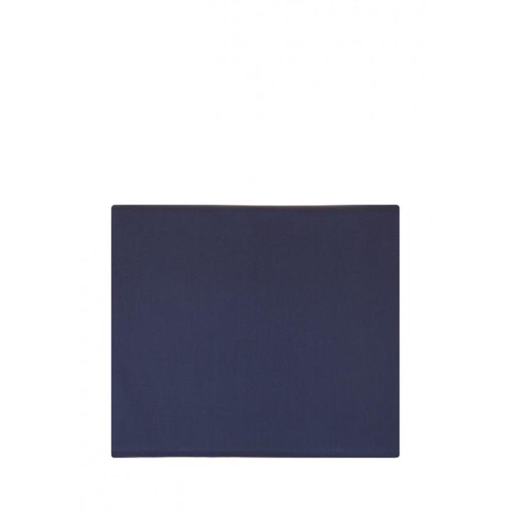 Простыня на резинке (цвет: синий; 160х200х30 см; перкаль: 100% хлопок)