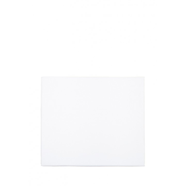 Простыня на резинке «Basic» (цвет: белый; 160х200х30 см; сатин: 100% хлопок)