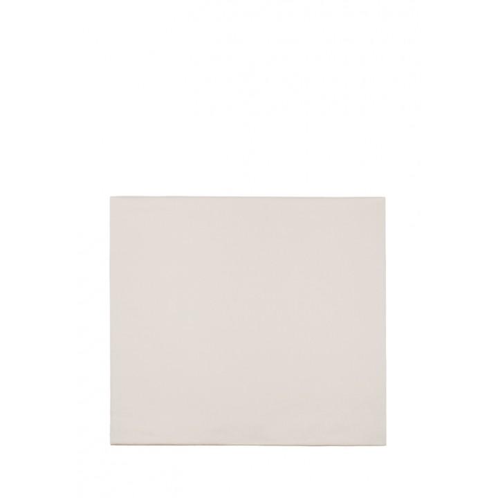 Простыня на резинке (цвет: бежевый; 200х220х30 см; сатин: 100% хлопок)