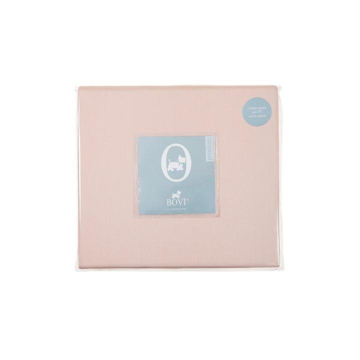 Простыня свободная (цвет: розовый; 240х280 см; сатин: 100% хлопок)