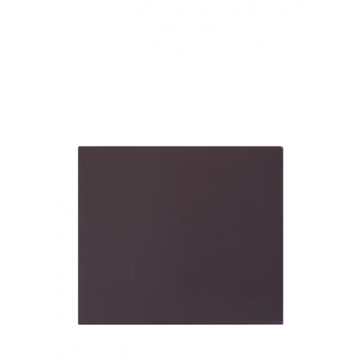 Простыня на резинке (цвет: горький шоколад; 140х200х30 см; сатин: 100% хлопок)