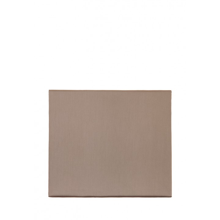Простыня на резинке «Basic» (цвет: капучино; 160х200х30 см; сатин: 100% хлопок)