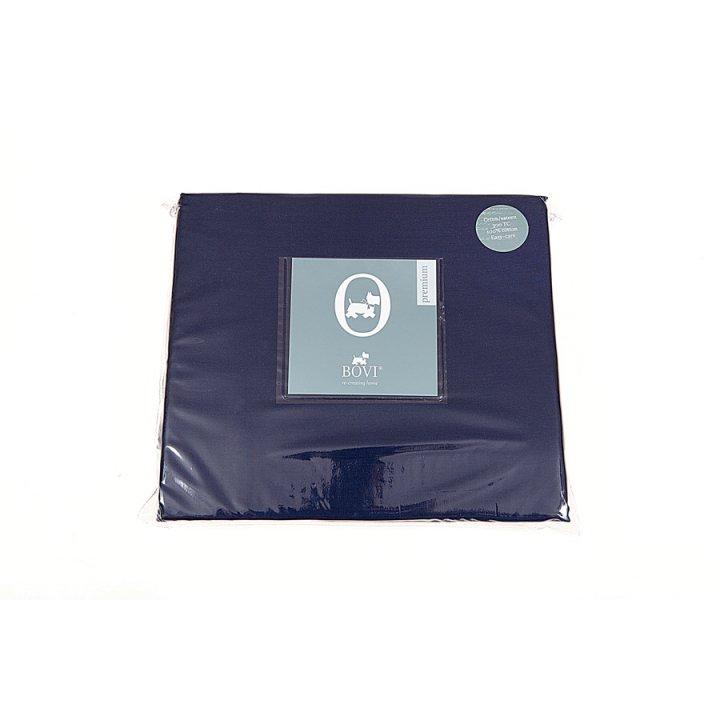Простыня свободная «Ласточки»  (цвет: синий, 240х280 см, сатин)