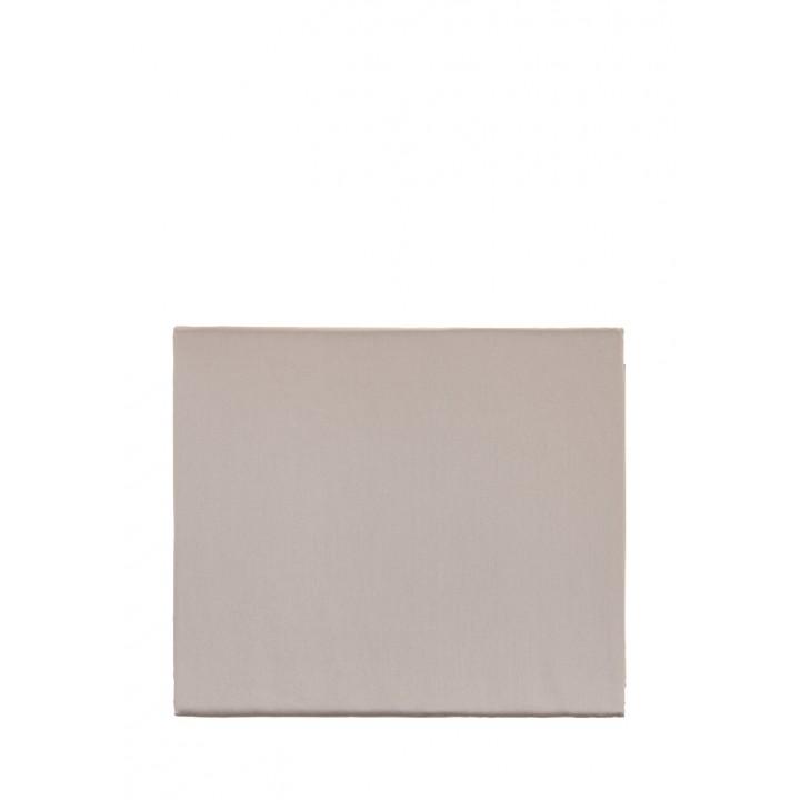 Простыня свободная (цвет: мокко; 240х280 см; сатин: 100% хлопок)