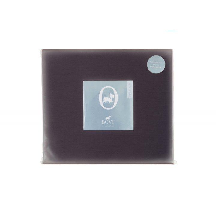 Простыня свободная «Kioto»,«Hight Tea»  (цвет: горький шоколад, 240х280 см, сатин)