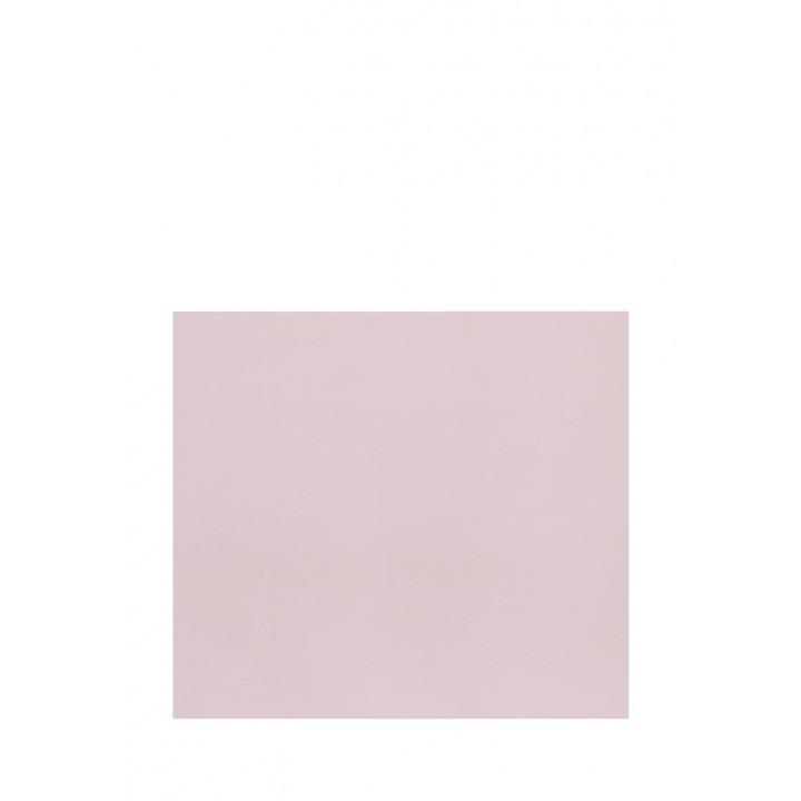 Простыня на резинке (цвет: пудрово-розовый; 160х200х30 см; сатин: 100% хлопок)