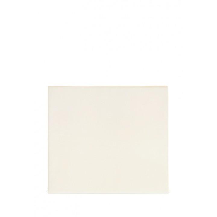 Простыня на резинке (цвет: шампань; 180х200х30 см; сатин: 100% хлопок)