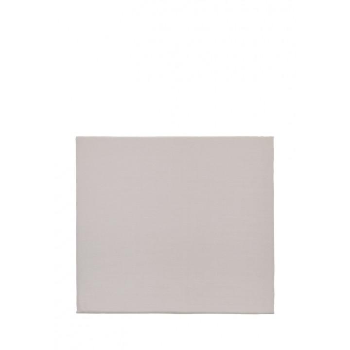 Простыня свободная (цвет: серо-бежевый; 240х280 см; сатин: 100% хлопок)