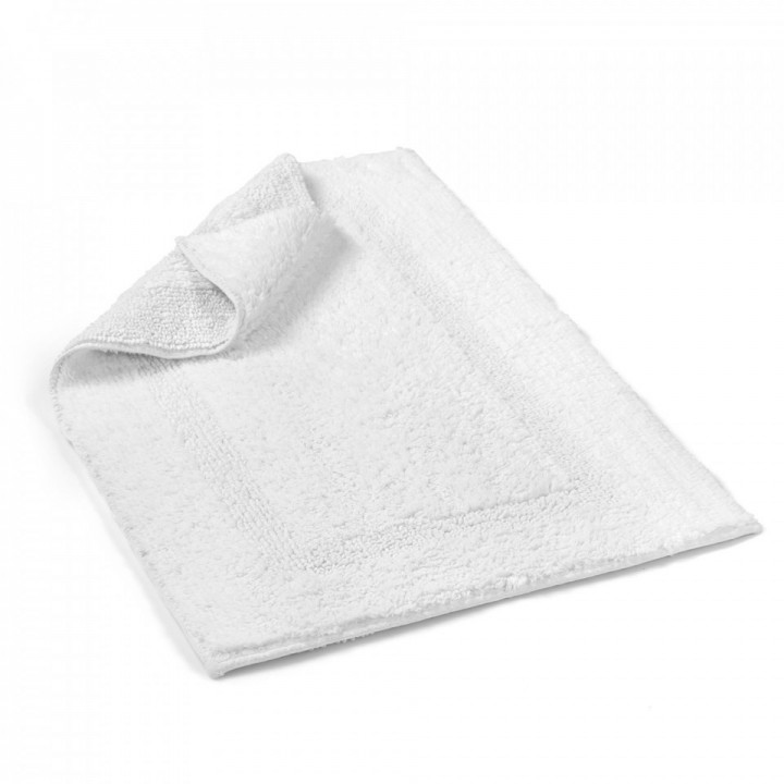 Коврик «Newcastle» (цвет: белый; 55х90 см; 100% длинноволокнистый хлопок)