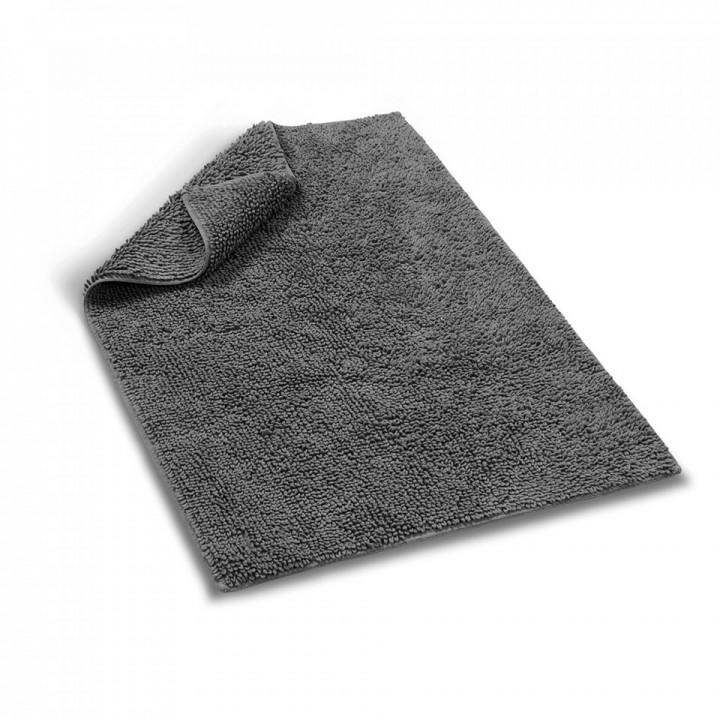 Коврик «Terry Tufted» (цвет: темно-серый; 60х90 см; 100% длинноволокнистый хлопок)