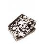 Полотенце махровое «Vita», цвет: коричневый/кремовый (50x100 см; махра: 60% хлопок, 40% бамбук)