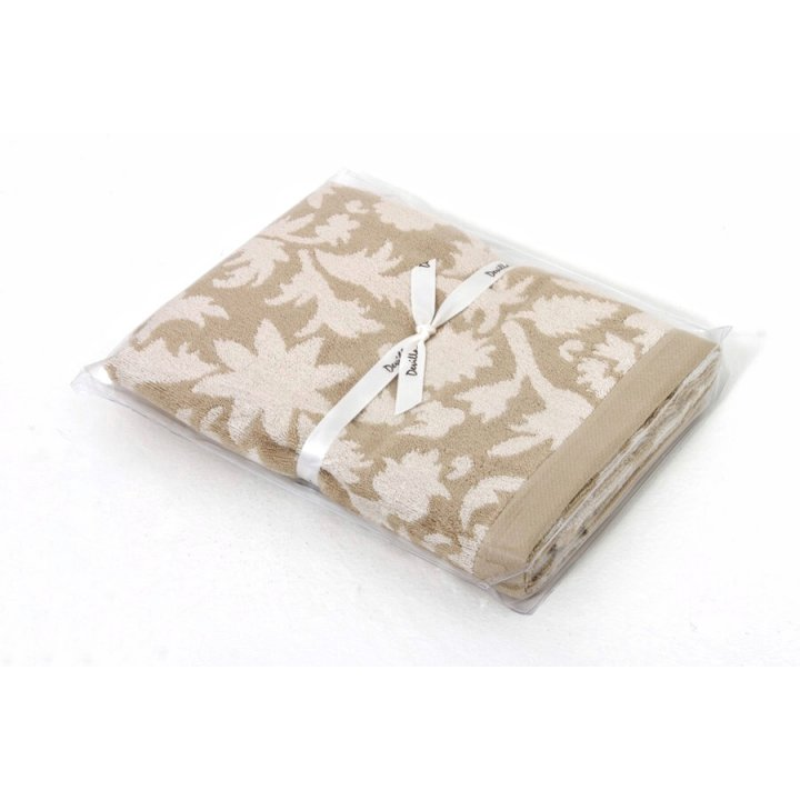 Полотенце «Vita» (цвет: бежевый, 70x140 см, махра, бамбук)