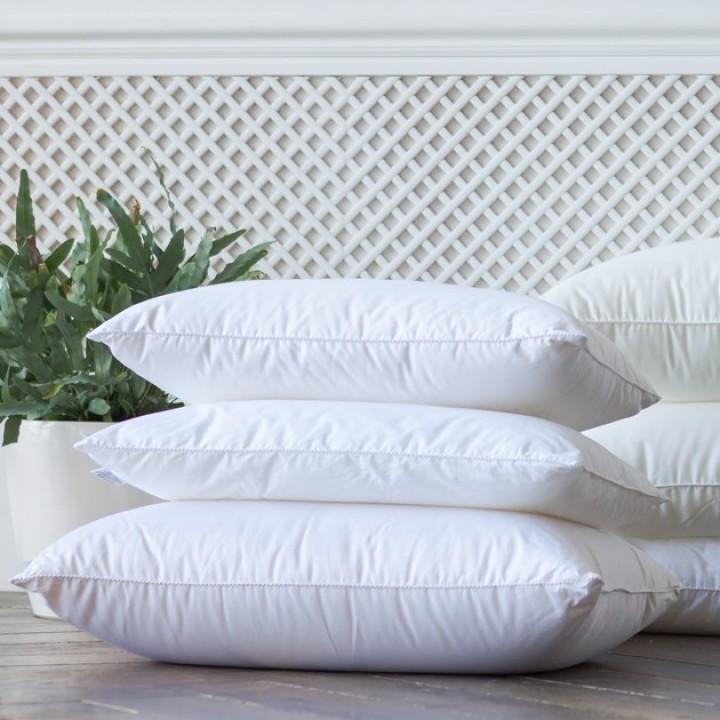 Подушка детская гипоаллергенная мягкая «Kinder 95C° Grass» (50х68 см; наполнитель: 100% полиэстер; чехол: перкаль, 100% хлопок)