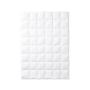 Одеяло пуховое кассетное теплое «True Legend 650 warm» (155х200 см; наполнитель: пух белый гусиный 90%, мелкое перо 10%; чехол: мако-батист, хлопок 100%; цвет: белый)