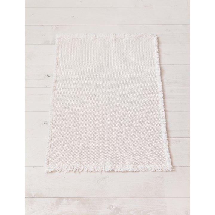Коврик «Casual» (цвет: экрю; 65х90 см; 100% хлопок)