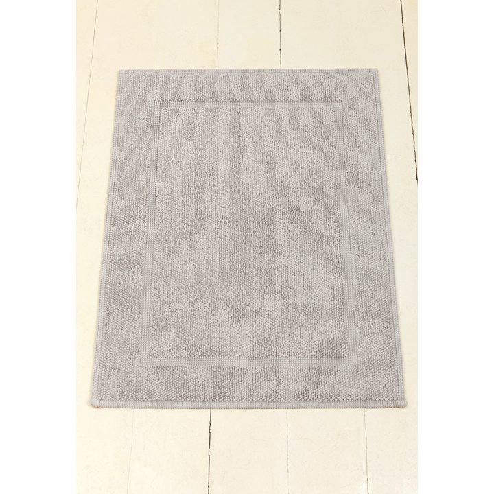 Коврик «Lux» (цвет: серый; 65х90 см; 100% хлопок)