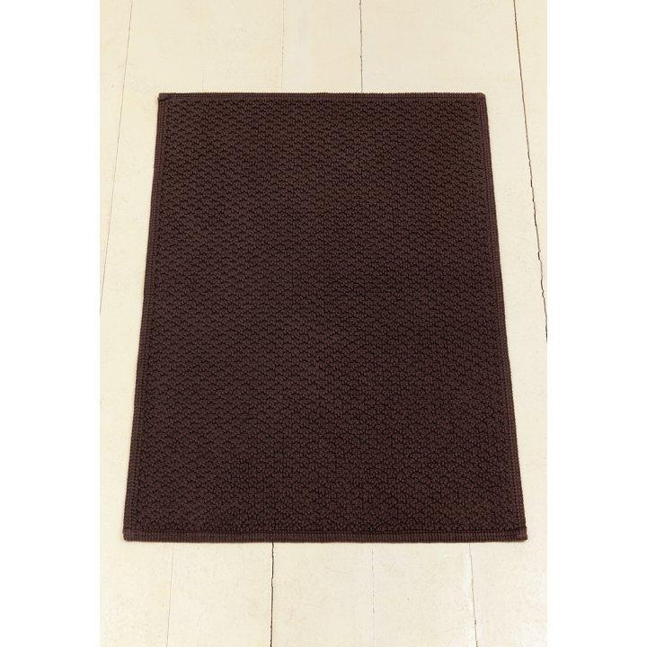 Коврик «Koko» (цвет: шоколадный; 70х120 см; 100% хлопок)