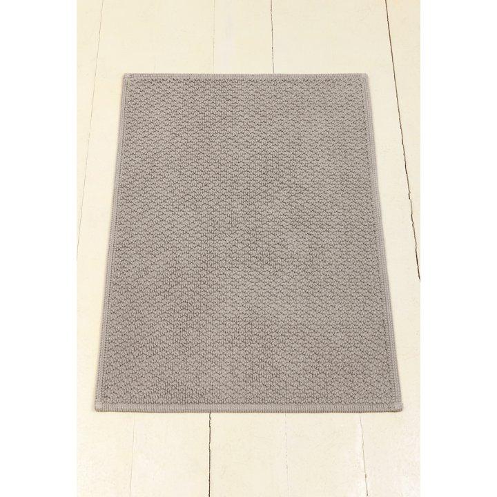 Коврик «Koko» (цвет: серый; 65х90 см; 100% хлопок)