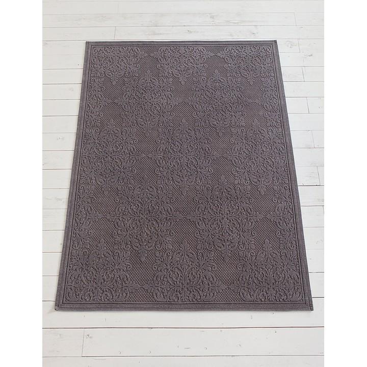 Ковер «Largo» (150х200 см, цвет: серый, 100% хлопок)