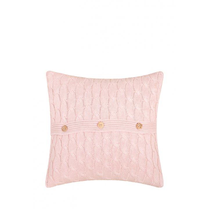 Декоративная наволочка «Imperio №22» (цвет: розовый, 40х40 см)